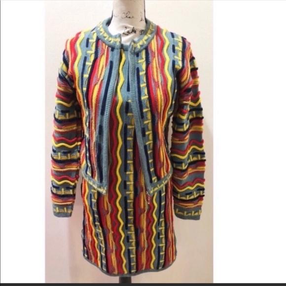COOGI 2pc Sweater Dress Set Size S